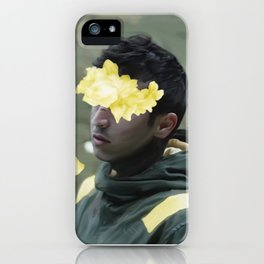 TOP Trench Era Floral Artwork iPhone Case