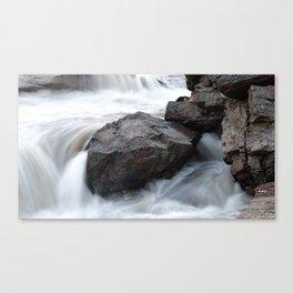 Apex Falls, Apex, Nunavut Canvas Print