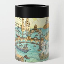 Ship City Can Cooler