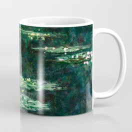1904-Claude Monet-Waterlilies-89x92 Coffee Mug