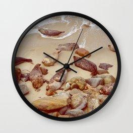 Sleeping Like a Rock Wall Clock