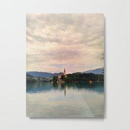 Lake Bled Fairy Tale Metal Print