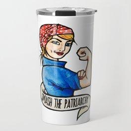 Smash the Patriarchy Travel Mug