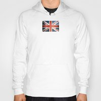 union jack Hoodies featuring Great Britain, Union Jack by Arken25