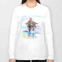 vietnam Long Sleeve T-shirts featuring Vietnam by tatiana-teni