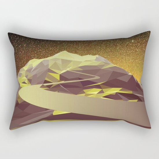 Night Mountains No. 9 Rectangular Pillow