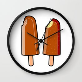 Super Cola/Choc Bana Wall Clock