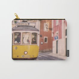 Lisbon Yellow Trolley Carry-All Pouch