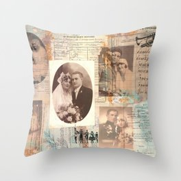 And They Lived Happily Ever After... Throw Pillow