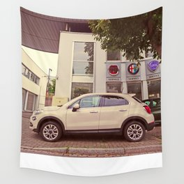 "Fiat 500X ""The Perturbator"" Wall Tapestry"