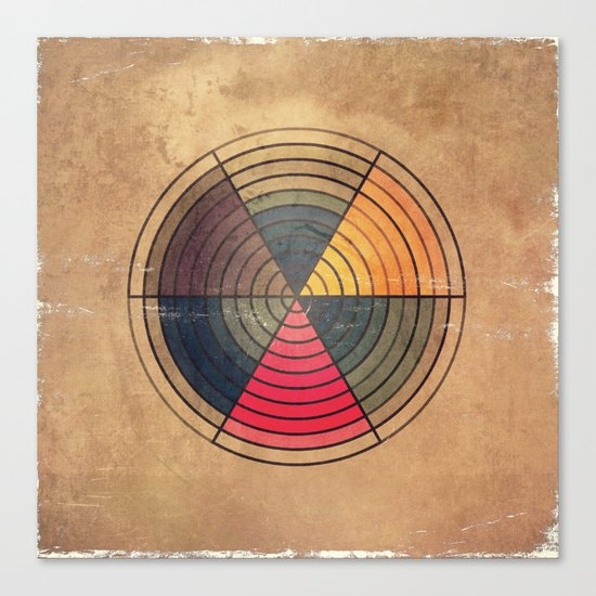 Circles C6 Canvas Print