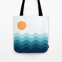 Abstract Landscape 14 Tote Bag