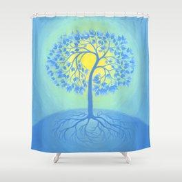 BEACON OF PEACE Shower Curtain
