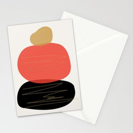 Modern minimal forms 2 Stationery Cards