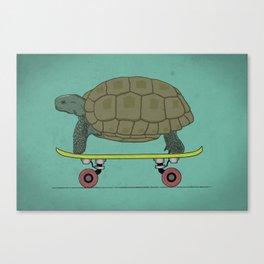 Slower skater Canvas Print