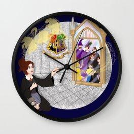 Bears, Wings, and Mirrors Wall Clock