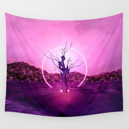 2077 landscape Wall Tapestry