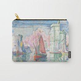 The Port Of La Rochelle, Paul Signac, 1921 Carry-All Pouch