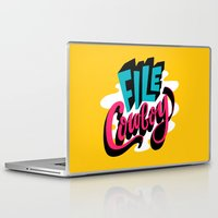 cowboy Laptop & iPad Skins featuring File Cowboy by Chris Piascik