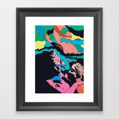 Triple Sec Framed Art Print
