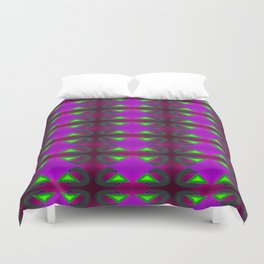Great absorbing - the pattern ... Duvet Cover