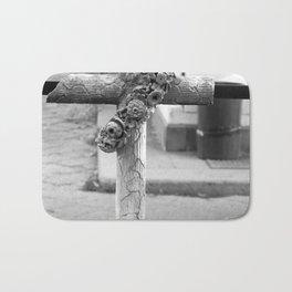 old cross Bath Mat