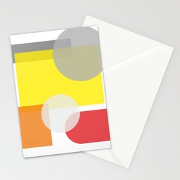 Tech geometric colorful Background #society6 #decor #buyart #artprint Stationery Cards