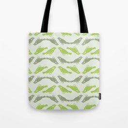 Little Bird (green) Tote Bag