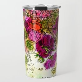 Dog-Rose. Autumn. Travel Mug