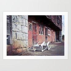 610 Barn #2 Art Print
