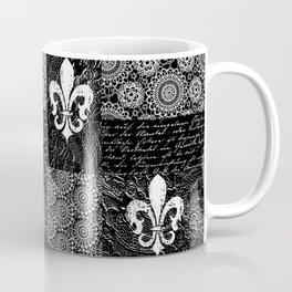 Black and white lace Coffee Mug