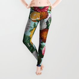 Summer Fruit Garden Leggings