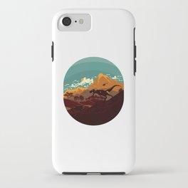 Jurassic Escape iPhone Case