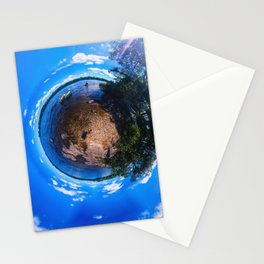 Top of the World on Lake Pemaquid in Damariscotta, Maine Stationery Cards