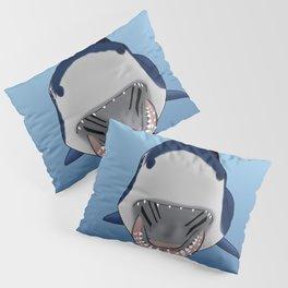 Shark Selfie Say Cheese Pillow Sham