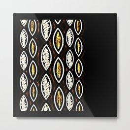 Pattern Two Metal Print