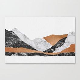 Marble Landscape I Canvas Print