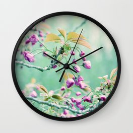 It smell like Spring Wall Clock