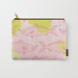 Fish Pattern 2 Carry-All Pouch