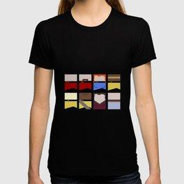 Enterprise 1701 D - Minimalist Star Trek TNG The Next Generation - startrek - Trektangles  T-shirt