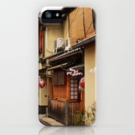 Old Houses in Kyoto iPhone Case