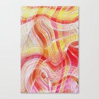 acid Canvas Prints featuring Acid by Fine2art