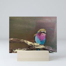 Mr. Birdie Mini Art Print