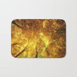Golden Trees of Endless Dreams Bath Mat
