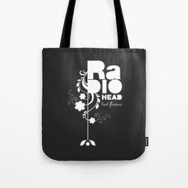 Radiohead song - Last flowers illustration white Tote Bag