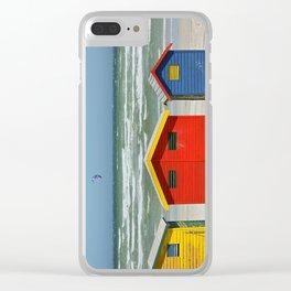 southafrica ... muizenberg beach huts I Clear iPhone Case