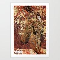 Yoshino Geisha Art Print