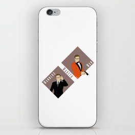 Manners Maketh Man iPhone Skin
