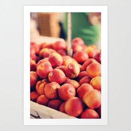 Each peach, pear, plum Art Print