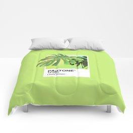 PANTONE SERIES – LEAFY GREEN Comforters